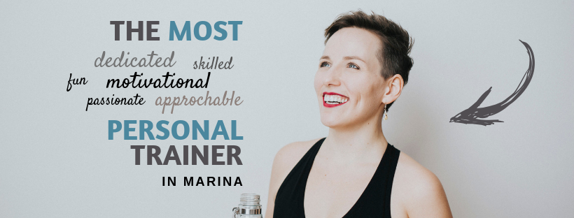 The most dedicated, skilled, fun, approachable, passionate personal trainer in Marina