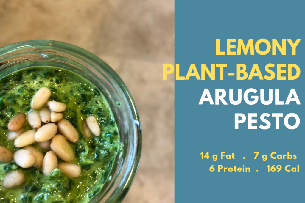 Lemony Plant-Based Arugula Pesto