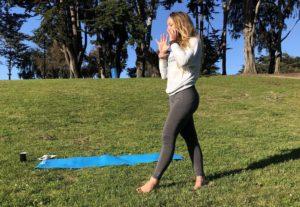 Hannah - Sunset Yoga