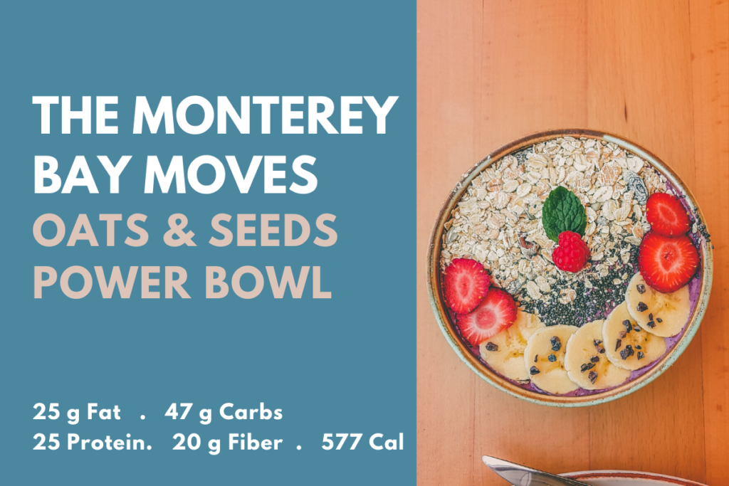 oats and seeds power bowl