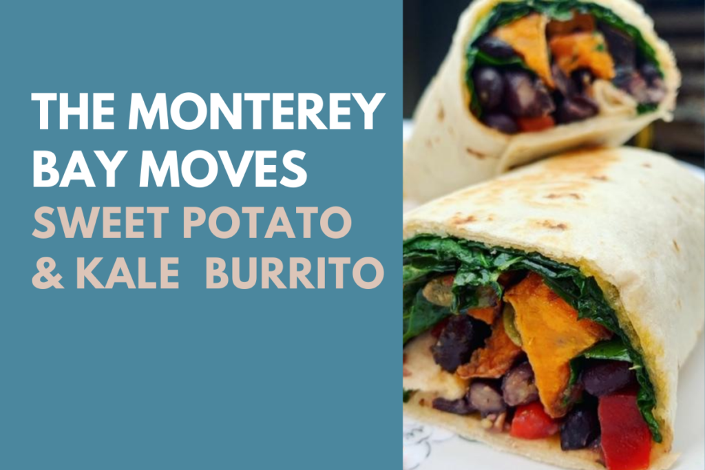 Sweet Potato & Kale Burrito