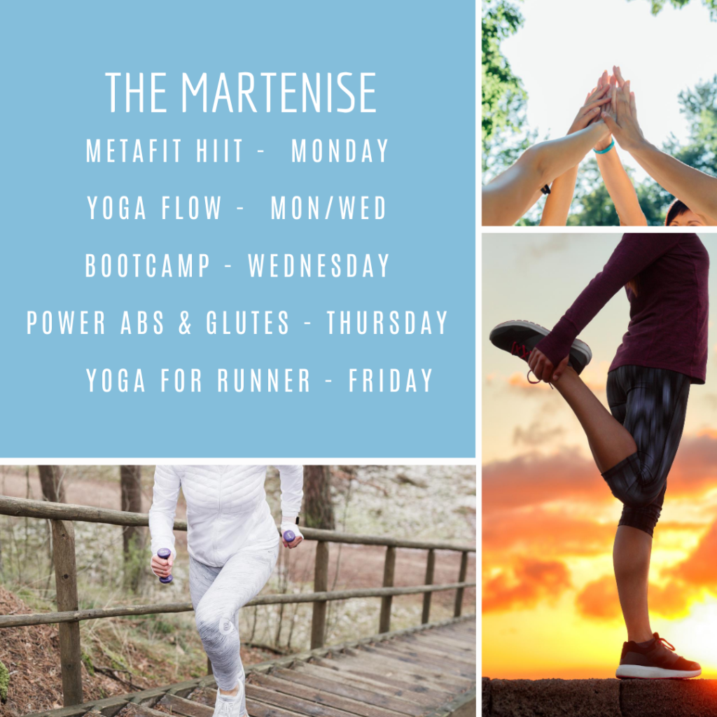 The Martenise Schedule